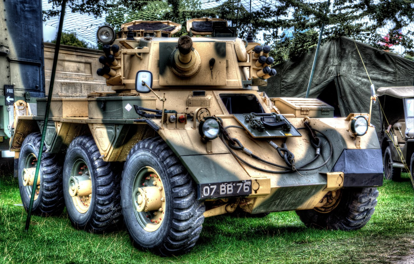 Wallpaper HDR, armored car,