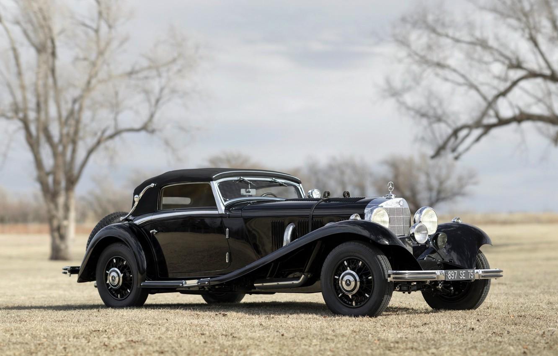 Photo wallpaper car, Mercedes Benz, cars, classic, Cabriolet, 540K