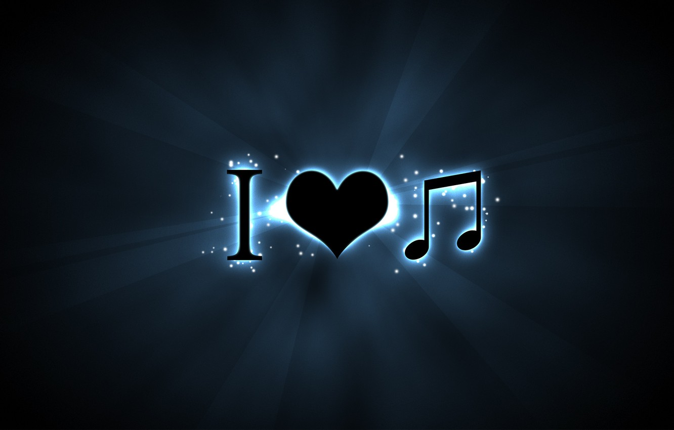 Photo wallpaper text, characters, signs, music, love