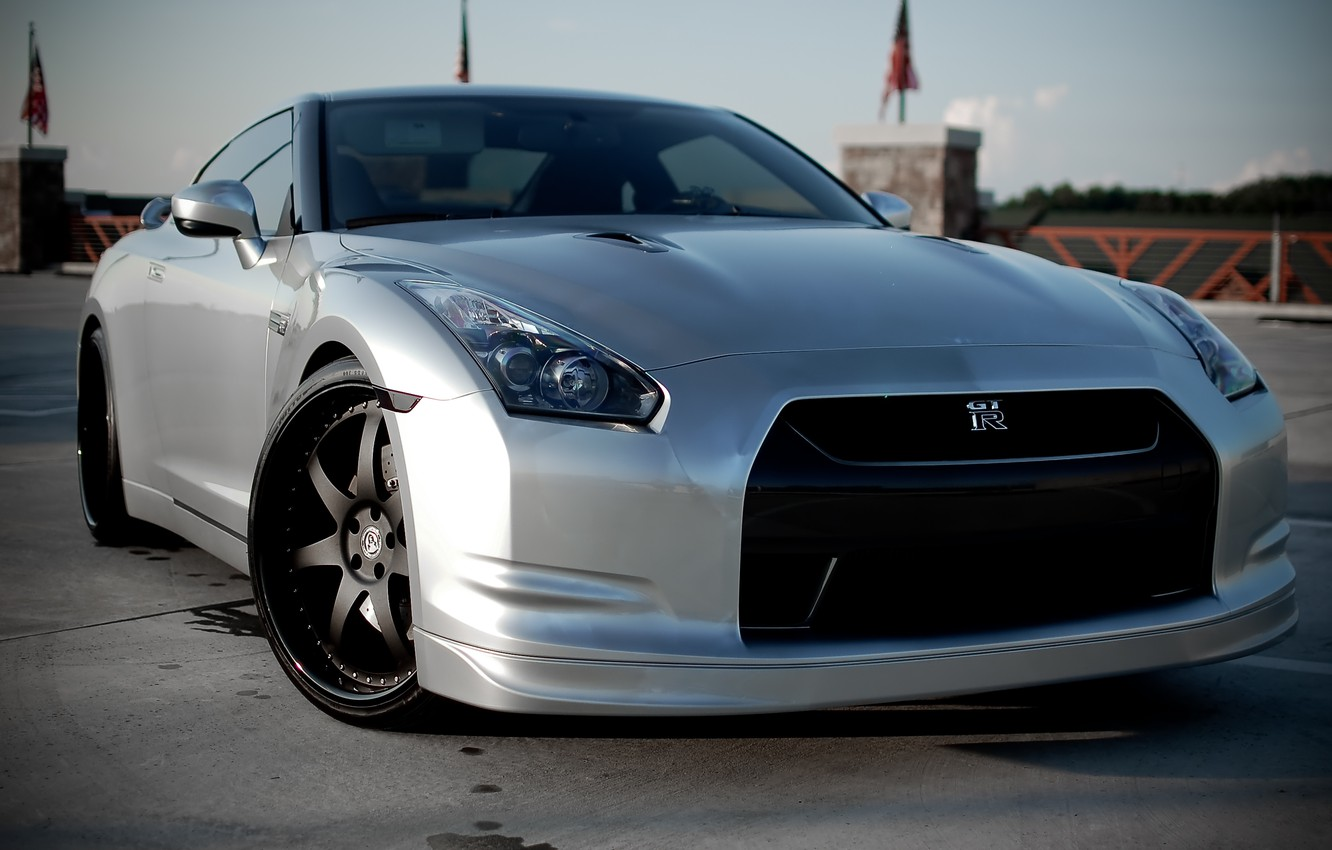 Photo wallpaper GTR, Nissan, by Randy's, done, Customs and Speedwerks.