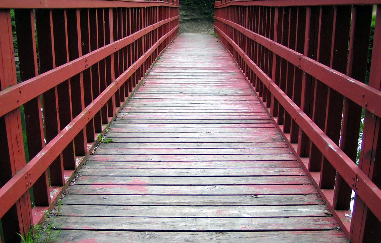 Photo wallpaper road, bridge, life, the way
