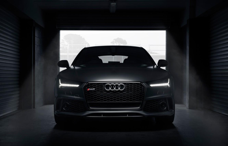 Photo wallpaper Audi, Audi, Sportback, AU-spec, RS 7, 2015