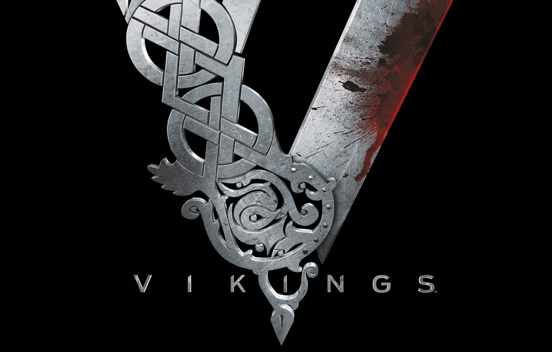Wallpaper Metal Black Blood The Series Vikings The