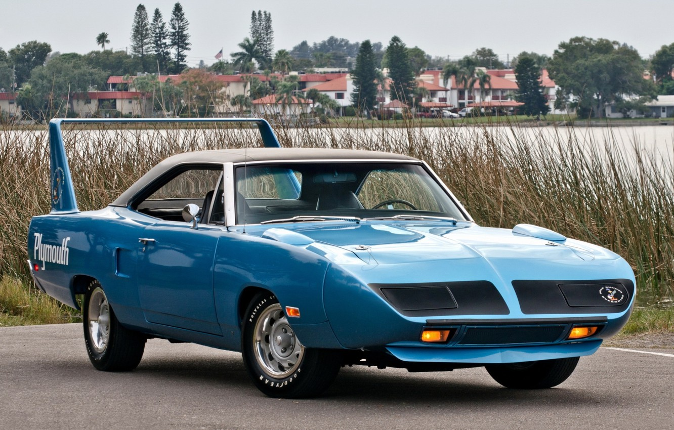 Photo wallpaper 1970, Plymouth, the front, Muscle car, Superbird, Muscle car, Plymouth, Road Runner, Road Runner, Superbad