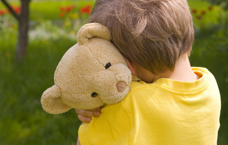 Photo wallpaper sadness, children, childhood, loneliness, child, Bear, sad, sadness, child, childhood, children, lonely, sad, Teddy bear, …