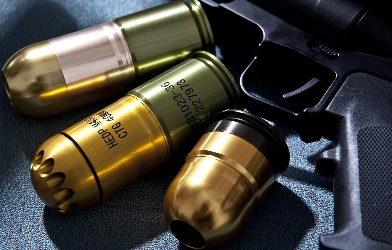 Photo wallpaper wallpaper, gun, weapon, power, rifle, assault rifle, ammunition, grenade, 40mm, hd