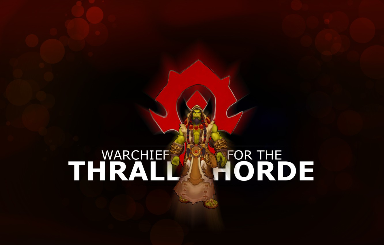 Wallpaper Coat Of Arms Orc Wow Horde World Of Warcraft The