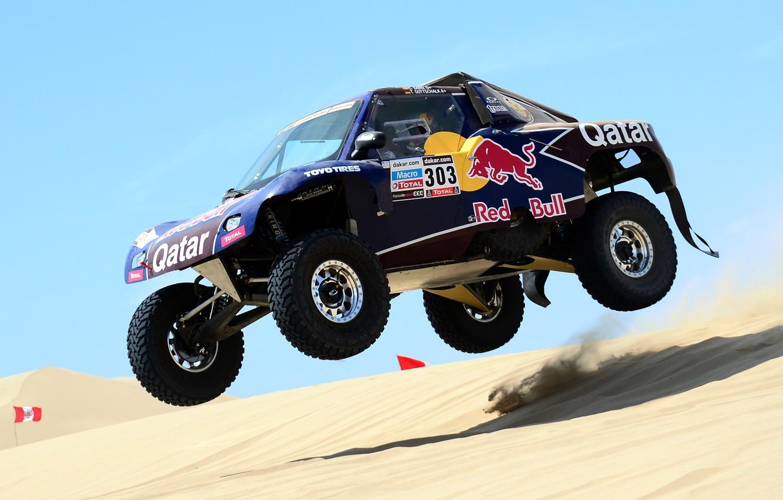 Photo wallpaper Sand, Race, Rally, Dakar, Rally, Dune, Buggy, Buggy