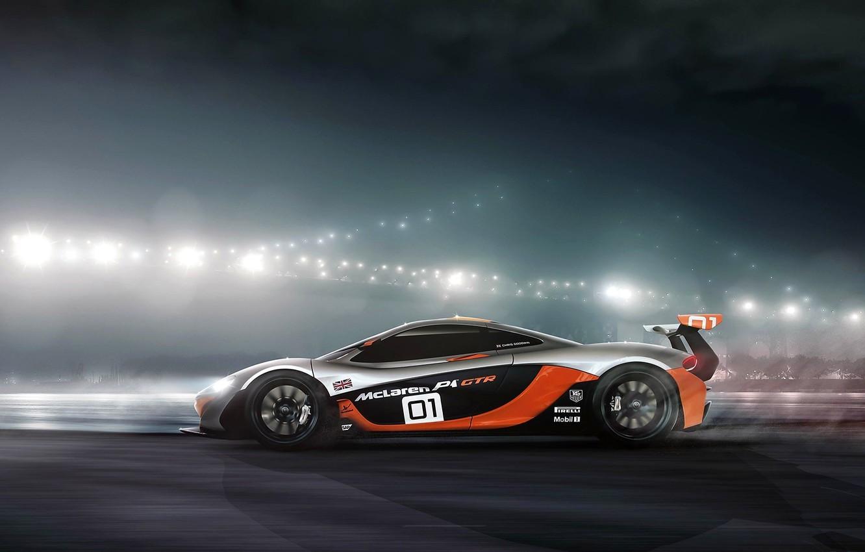 Photo wallpaper McLaren, GTR, profile, Ranier Peredo