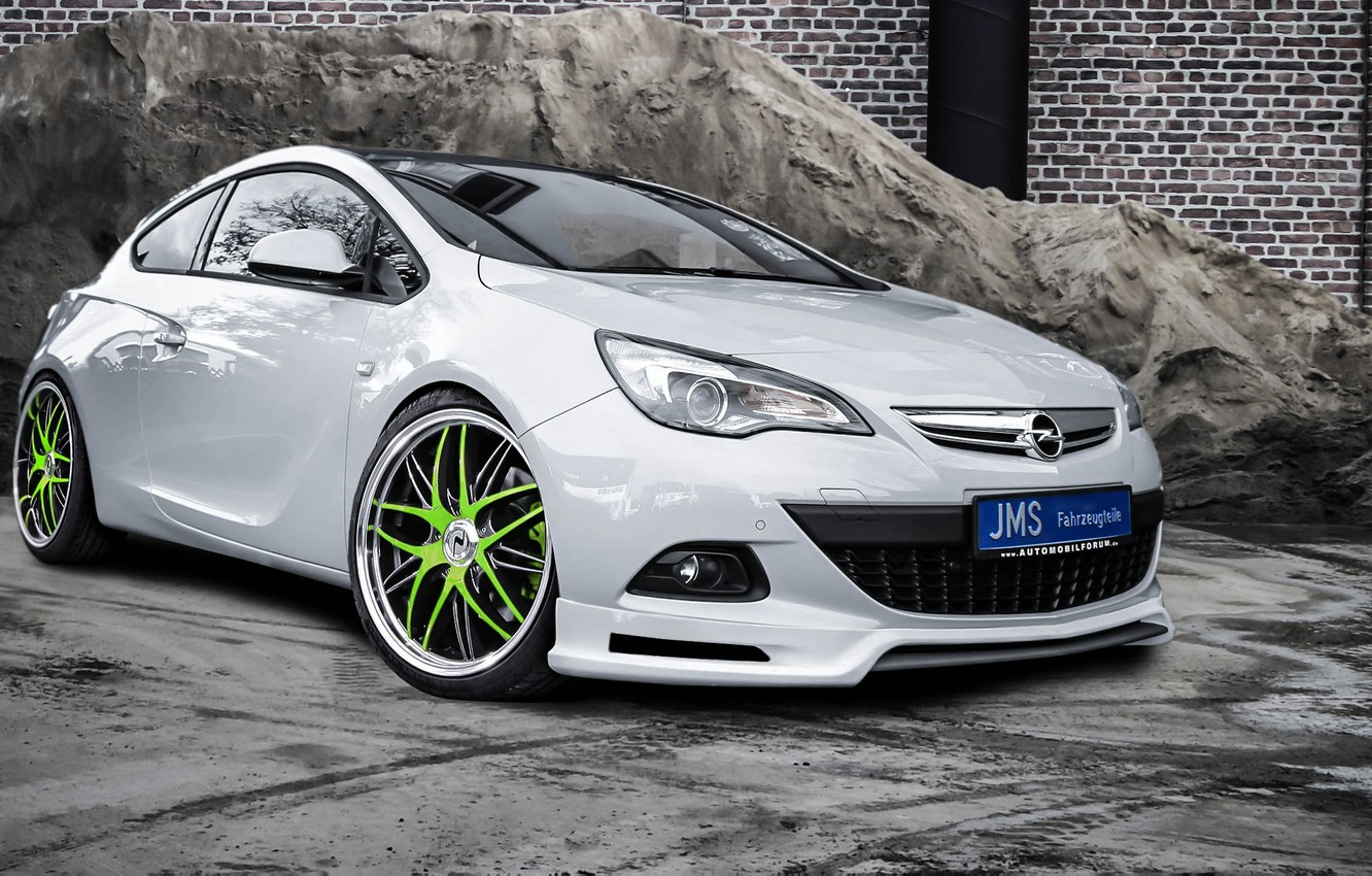 Photo wallpaper Opel, Astra, GTC, JMS
