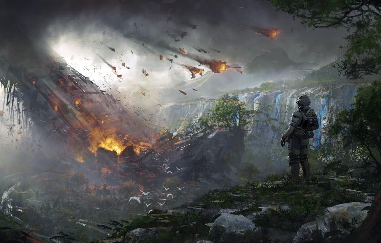 Photo wallpaper Game, Activision, Titanfall 2