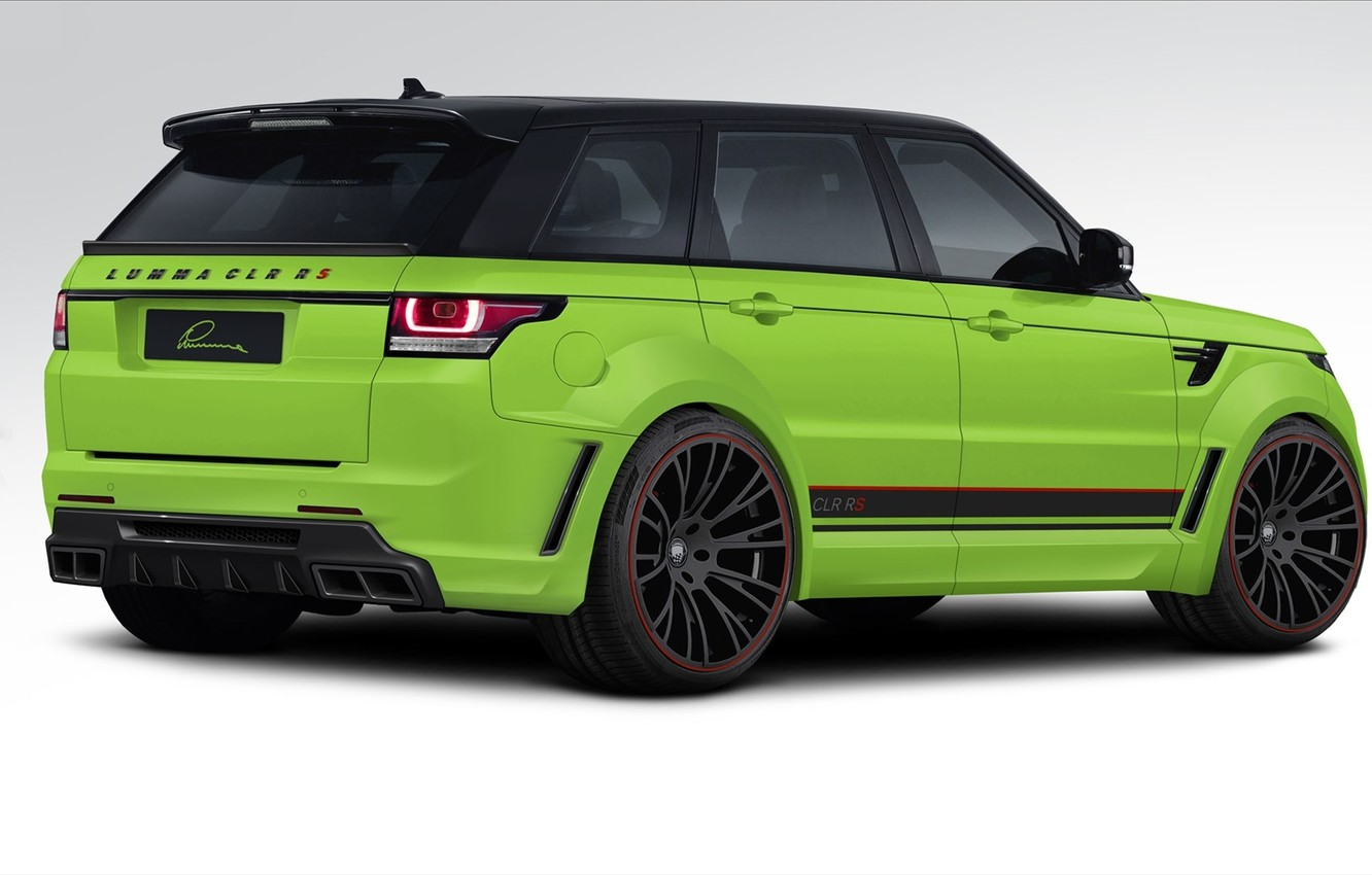 Photo wallpaper tuning, rear view, Range Rover Sport, tuning, Land Rover, LUMMA Design, Range Rover Sport