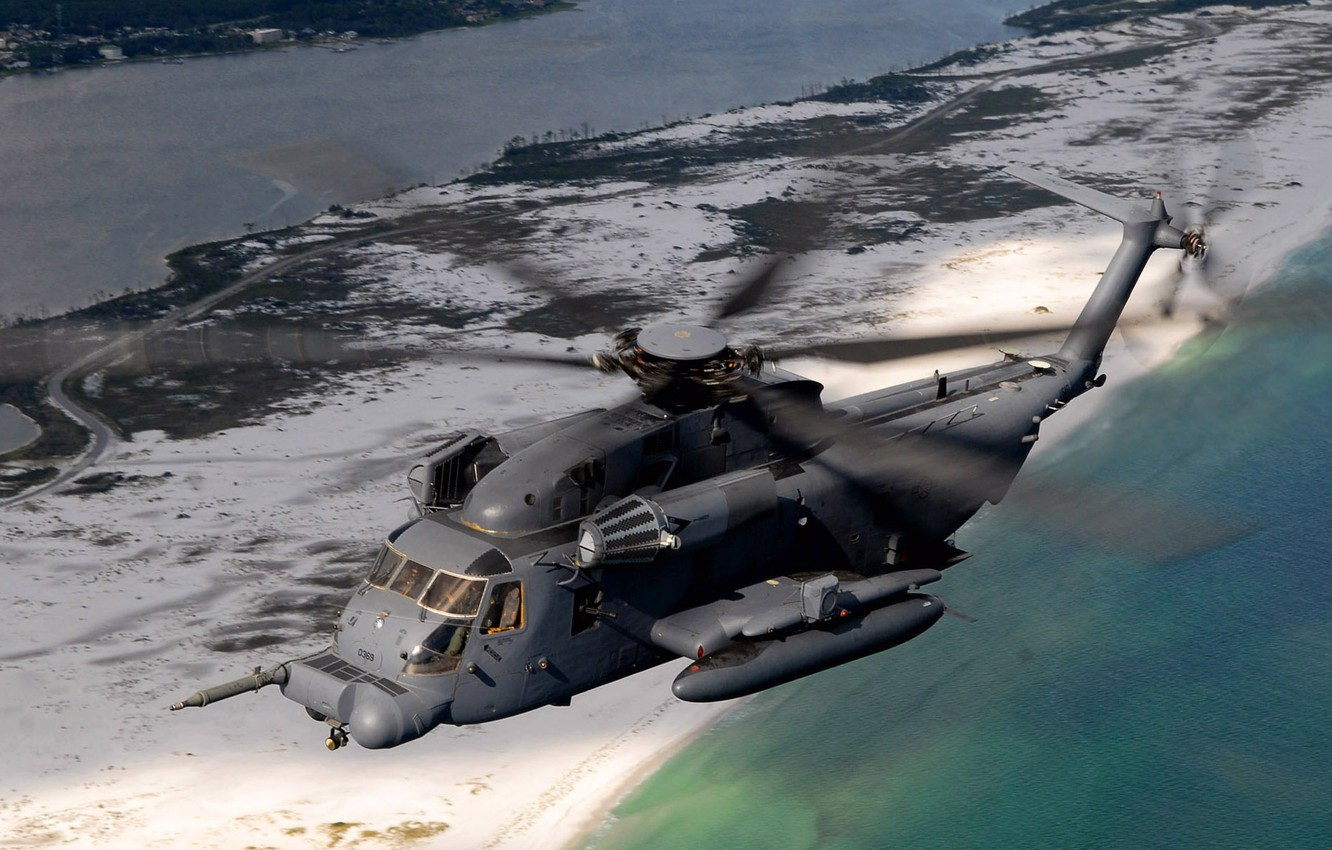 Wallpaper Helicopter Sikorsky Heavy Ch 53 Sea Stallion