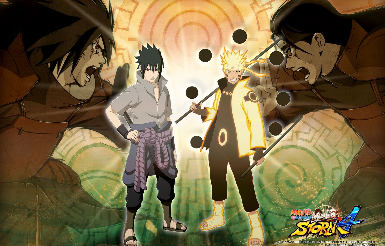 Photo wallpaper battle, logo, headband, armor, logo, ninja, Creek, Sharingan, Sasuke Uchiha, Naruto Uzumaki, Sasuke Uchiha, Naruto …