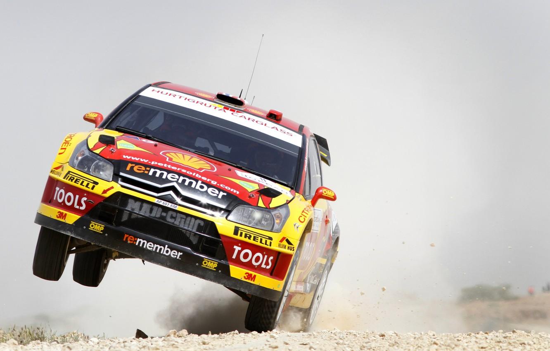 Photo wallpaper Wheel, Speed, Race, Citroen, Citroen, WRC, Solberg, Rally, Rally, The front