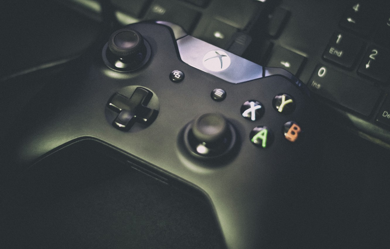 Photo wallpaper button, keyboard, console, xbox, gamepad, gamepad, Xbox One, sticks, Juan
