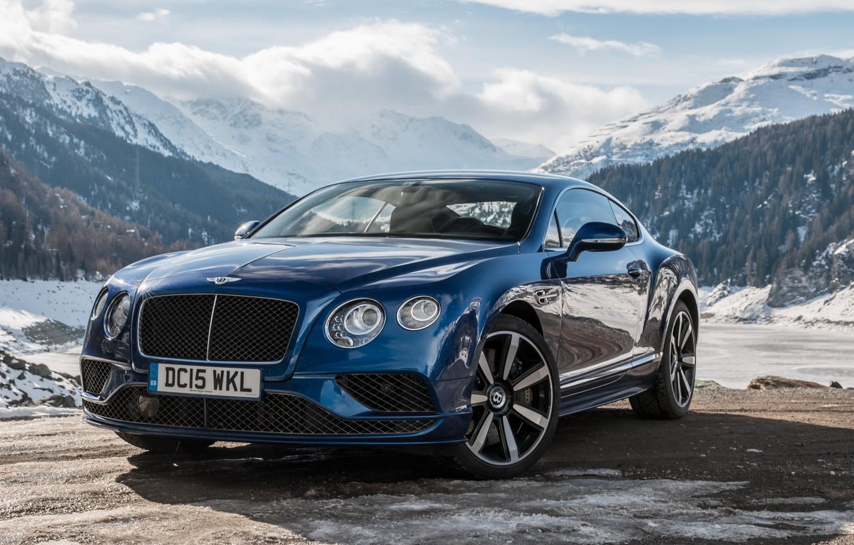 Photo wallpaper Bentley, Continental, Speed, GT