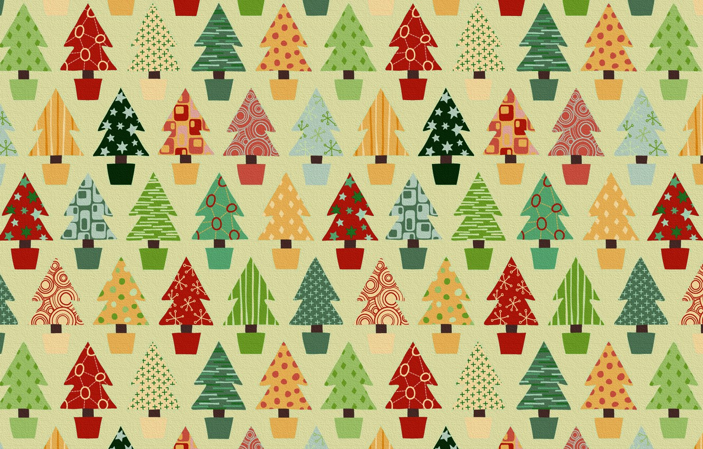 Photo wallpaper holiday, toys, new year, Santa Claus, tree
