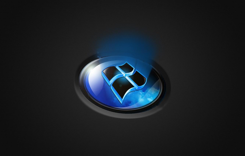 Photo wallpaper light, icon, windows, operating system.