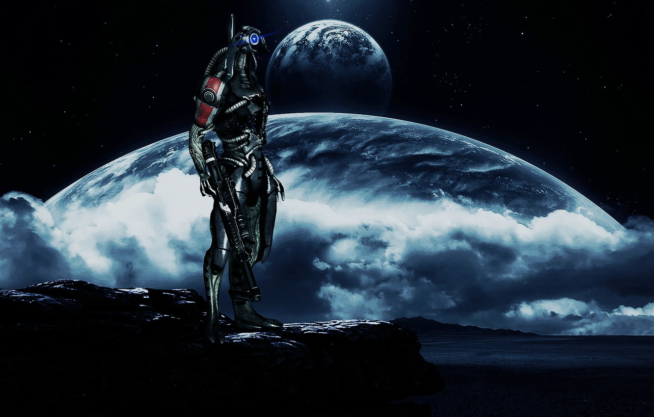 Wallpaper Mass Effect Parade Of The Planets Legion Images