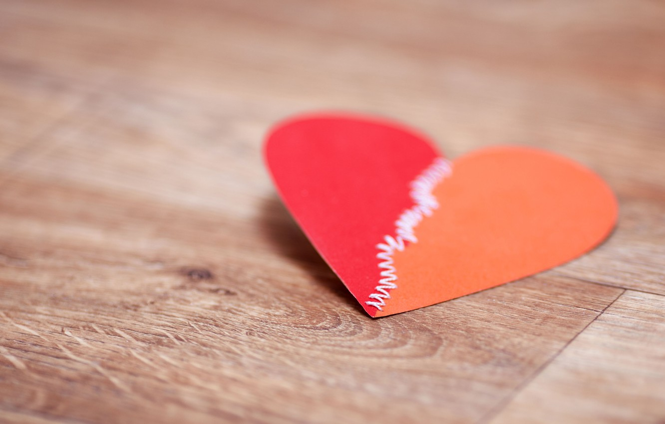 Photo wallpaper macro, red, paper, background, Wallpaper, mood, heart, wallpaper, love, heart, widescreen, background, full screen, HD …