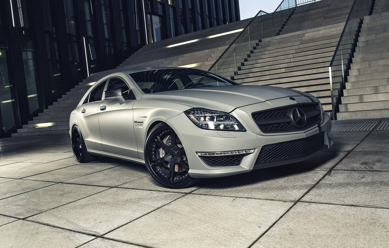 Photo wallpaper car, tuning, Mercedes, AMG, tuning, Wheelsandmore, rechange, Mercedes-Benz CLS 63