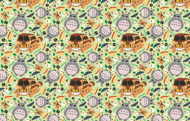 Photo wallpaper background, texture, anime, art, my neighbor Totoro