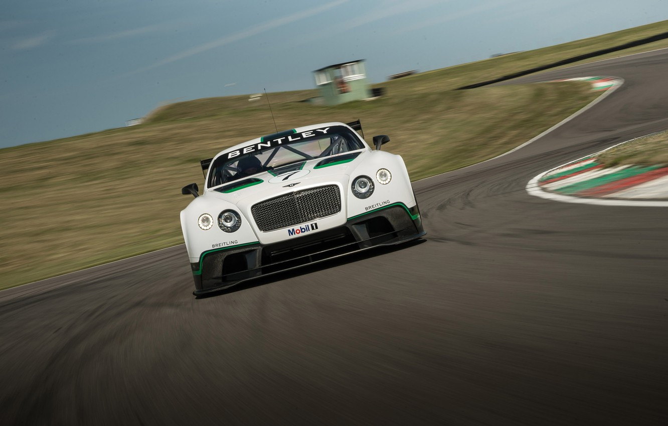 Photo wallpaper bentley, race, racing, mobil, continental gt3