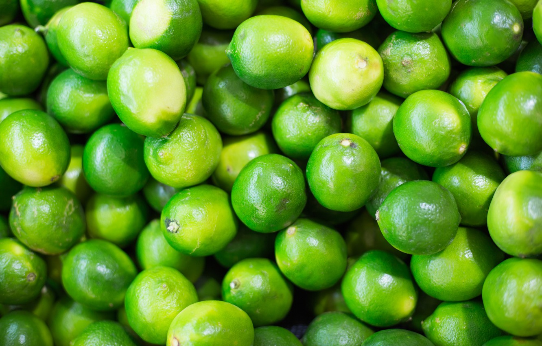 Photo wallpaper green, lime, a lot