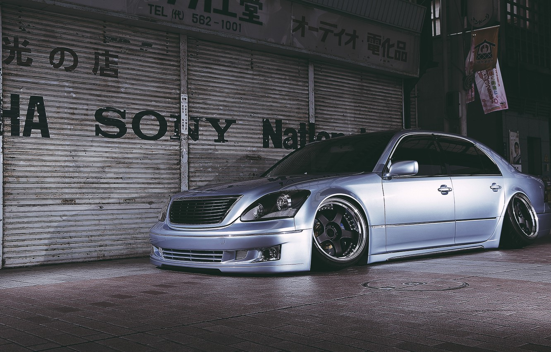 Photo wallpaper toyota, Toyota, celsior, celsior