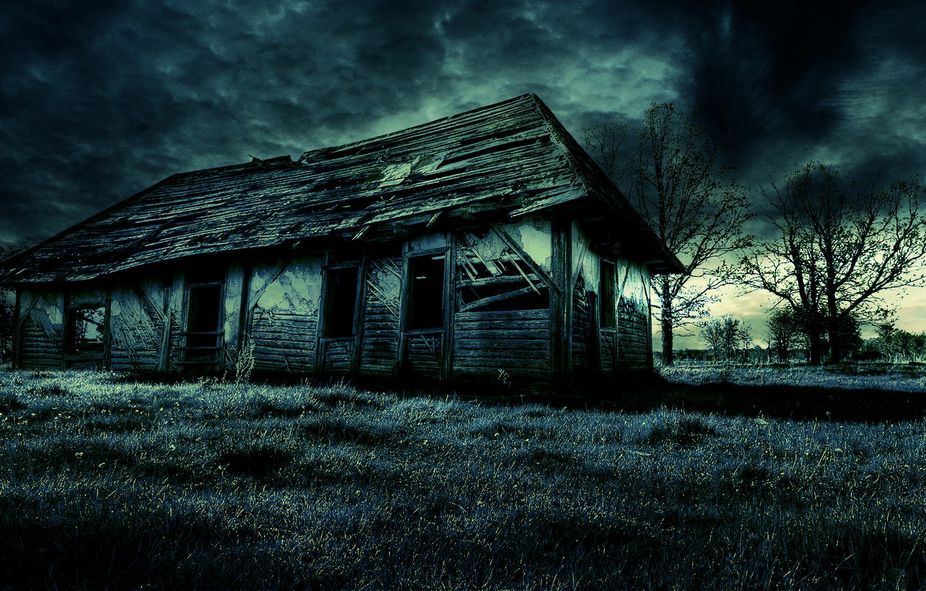 Wallpaper Dark House Old Scary Images For Desktop