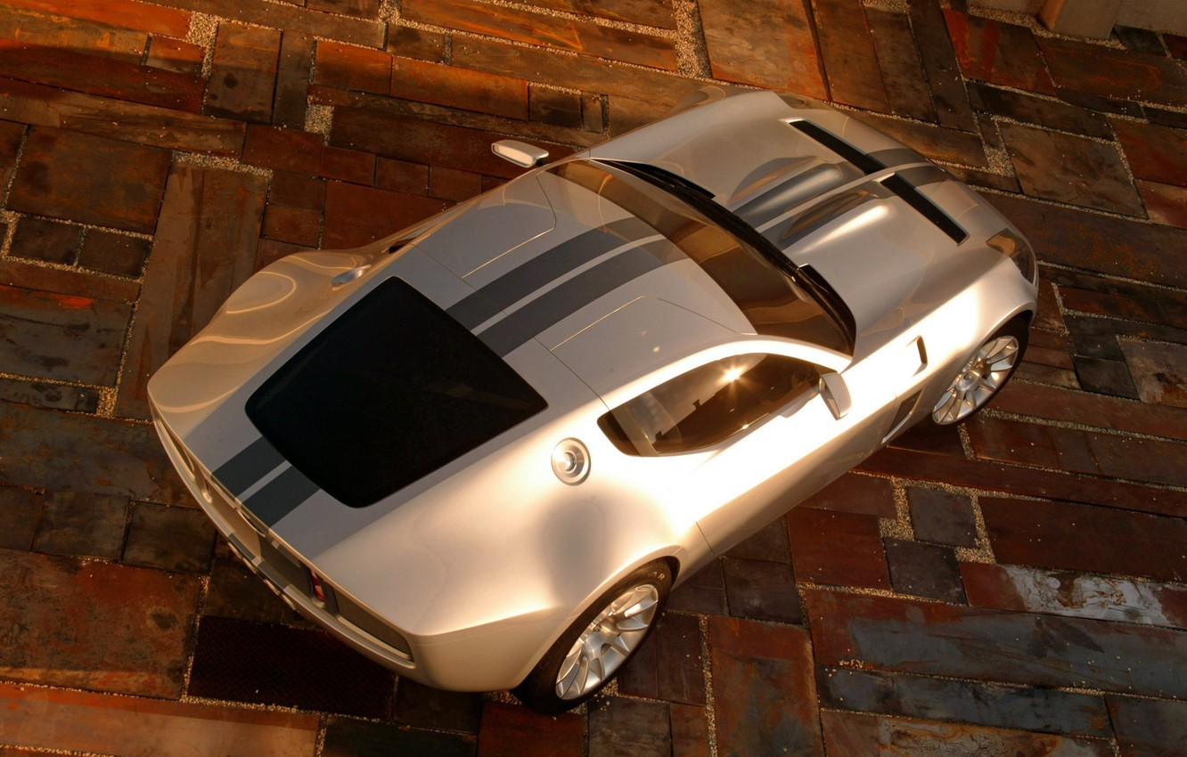 Photo wallpaper Ford, concept, shelby, gr-1