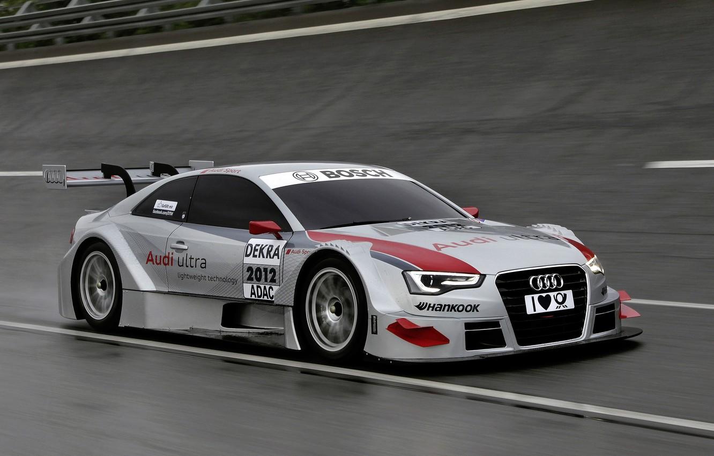 Photo wallpaper car, machine, sport, speed, track, sport, speed, track, 3000x2000, Audi A5 DTM 2012
