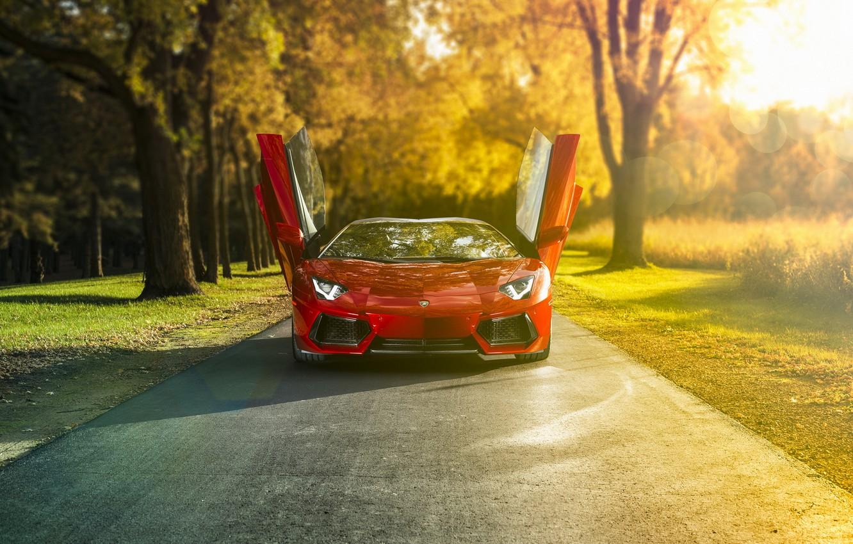 Photo wallpaper Roadster, Lambo, supercar, Lamborghini, rechange, Lamborghini Aventador, LP-700-4