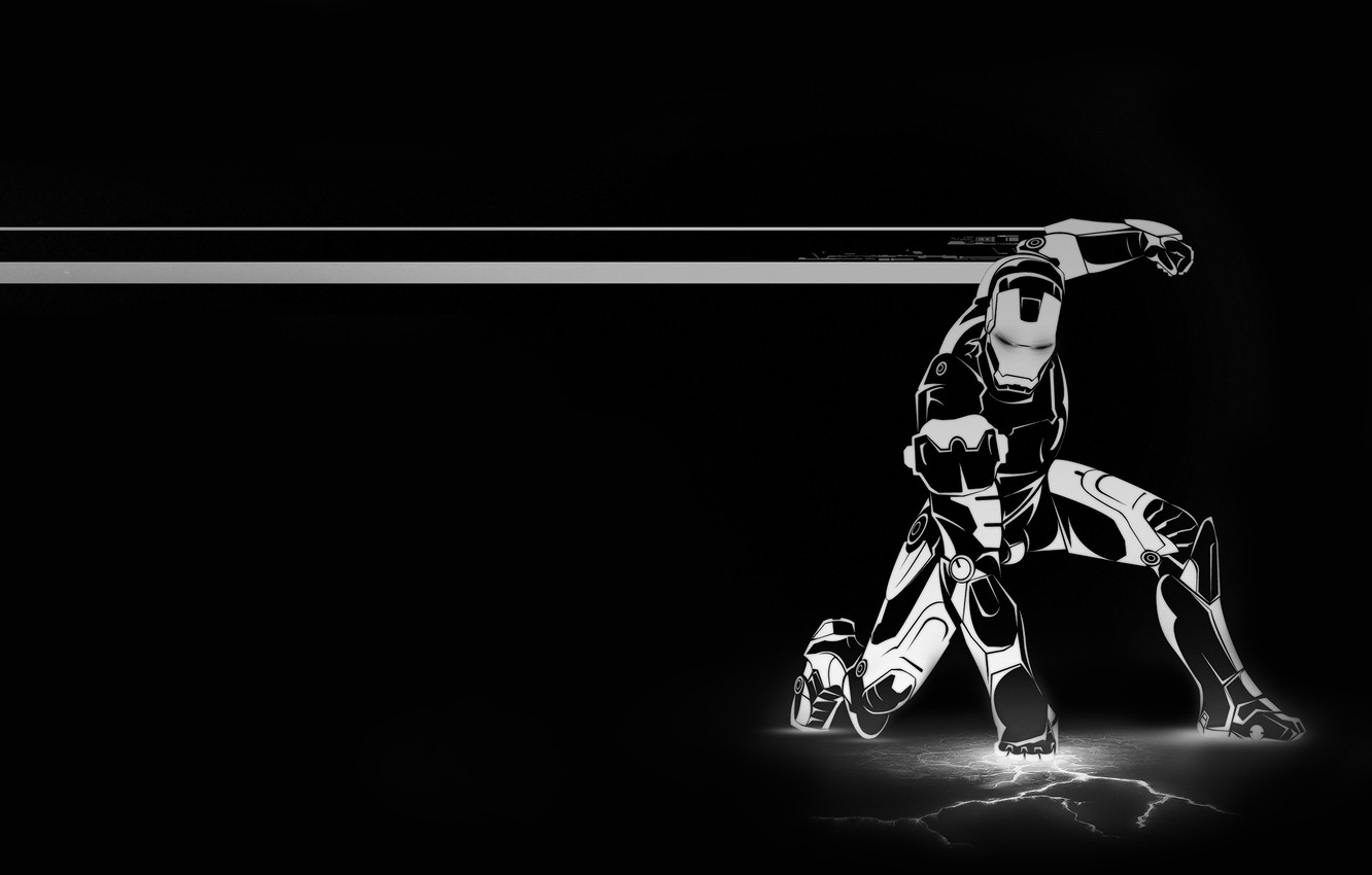 Photo wallpaper Iron man, Iron Man, Tony Stark