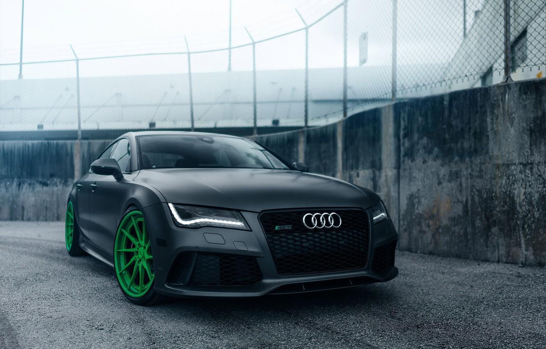 Photo wallpaper Audi, Track, RS7, Spec, ADV10R