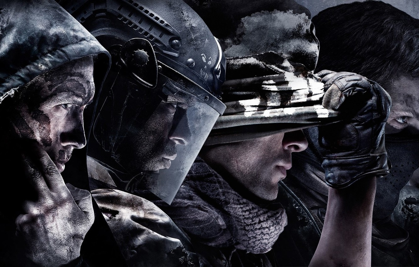Mask, Military, Activision, Equipment