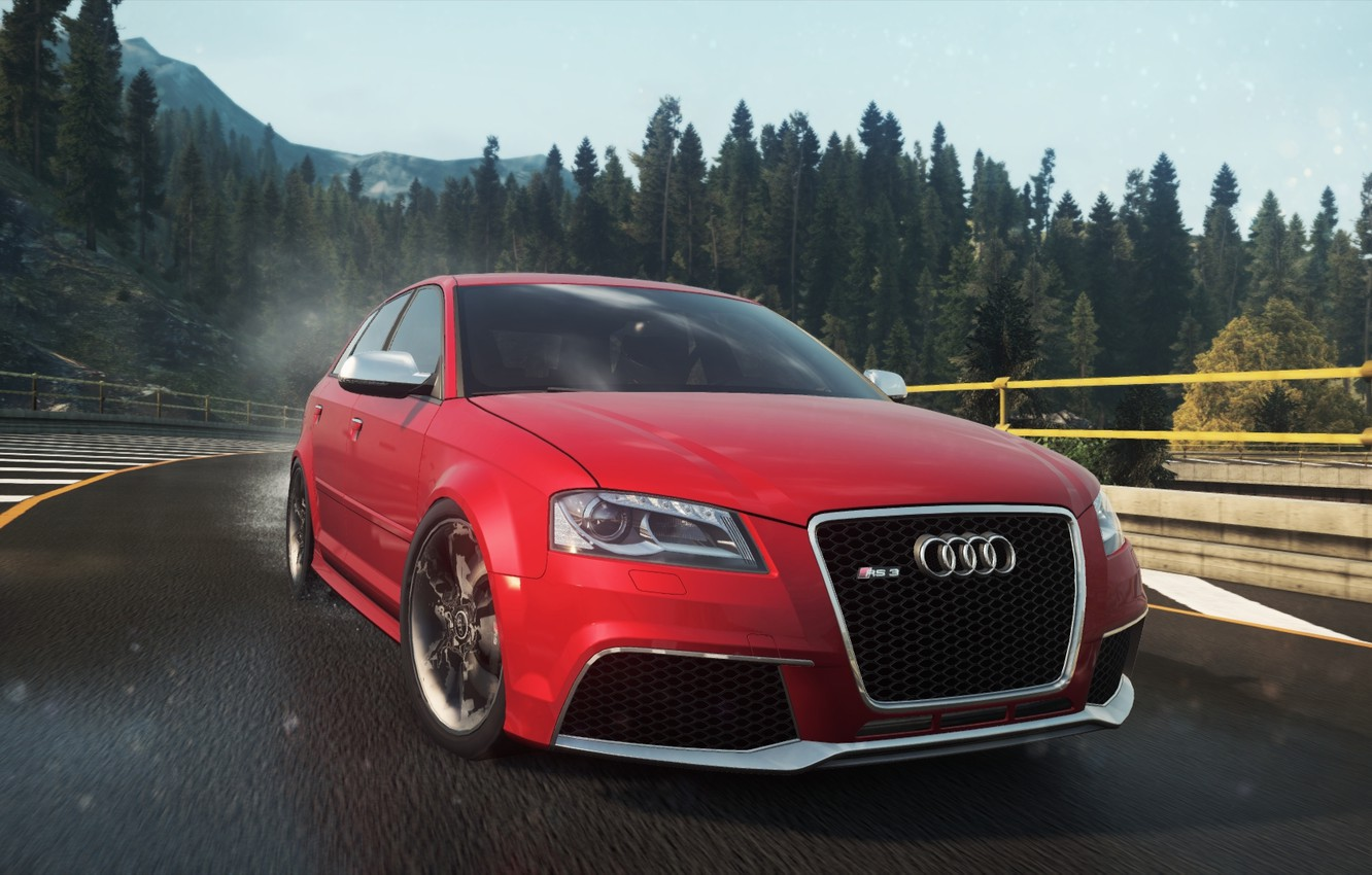 Photo wallpaper Audi, 2012, Need for Speed, nfs, Sportback, Most Wanted, RS3, NSF, NFSMW