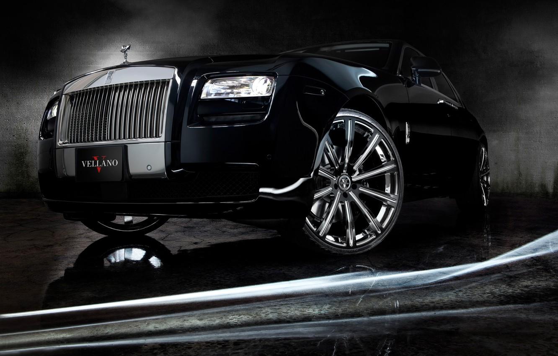 Photo wallpaper Auto, Tuning, Machine, Rolls Royce, Ghost, Drives