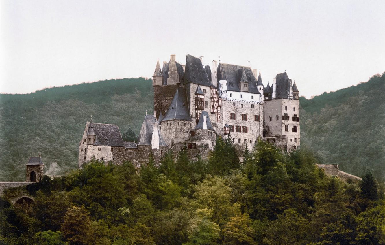 Photo wallpaper Castle, Germany, ELTZ