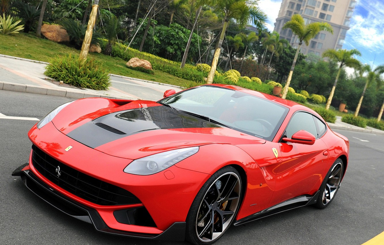 Photo wallpaper Ferrari, DMC, Tuning, Berlinetta, F12