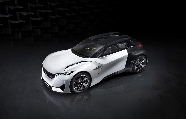 Photo wallpaper Concept, the concept, Peugeot, Peugeot, Fractal, 2015