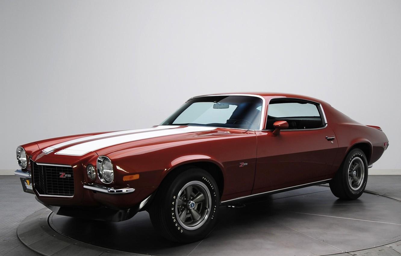 Photo wallpaper retro, Chevrolet, muscle car, camaro, chevrolet, muscle car, 1970, Camaro, z28