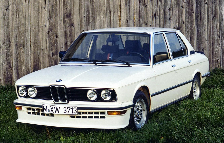Photo wallpaper BMW, 535i, E12