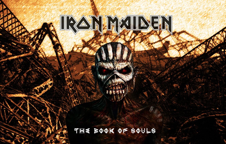 Wallpaper Skull Skeleton Dump Heavy Metal Iron Maiden Book Of