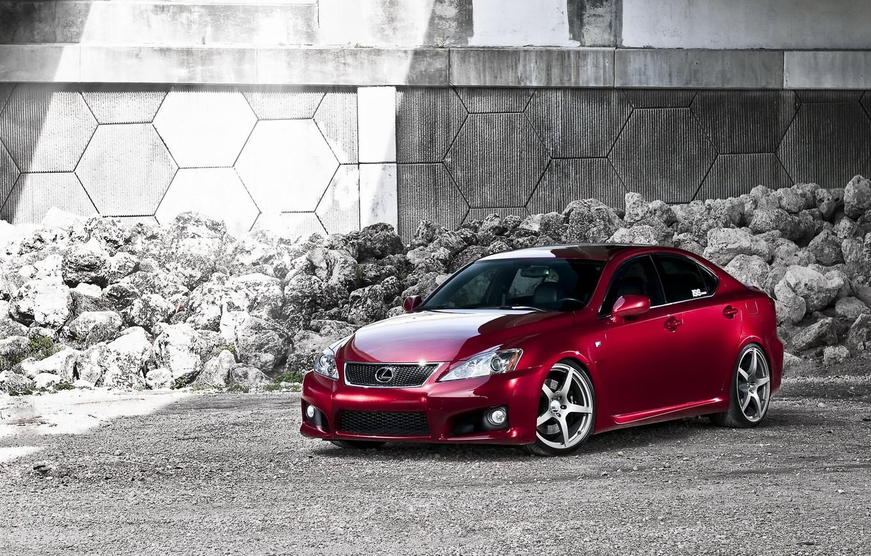 Photo wallpaper red, tuning, lexus, car, Lexus