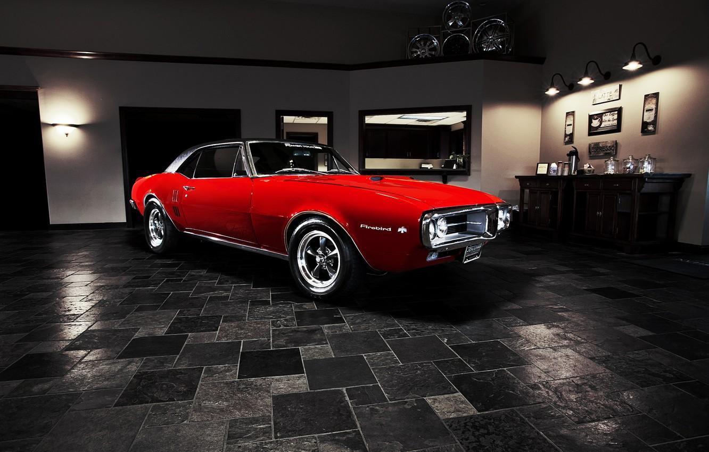 Photo wallpaper muscle car, Pontiac, muscle car, 1967, Pontiac, Firebird, Firebird.