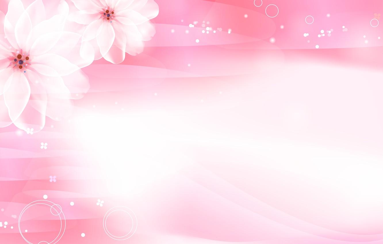 Photo wallpaper flowers, pink, Sakura