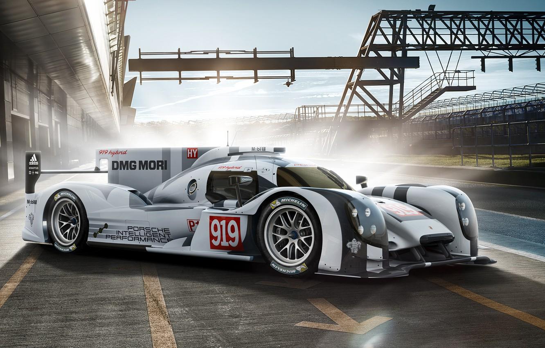 Photo wallpaper Porsche, Hybrid, 2014, 919