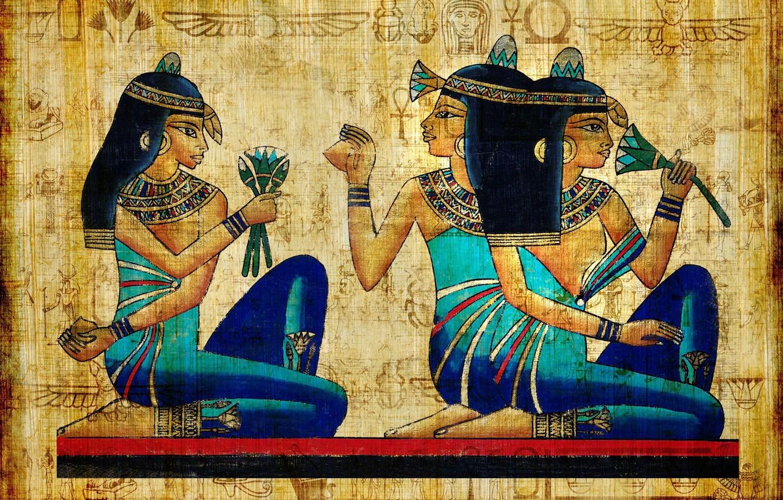 Photo wallpaper girls, figure, antiquity, brunette, Egypt, egypt, ancient